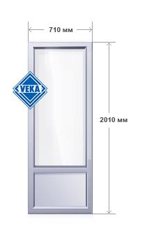 Балконная пластиковая дверь ламиированная от компании оконны.